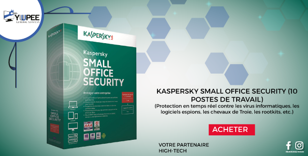 KASPERSKY SMALL OFFICE SECURITY (10 POSTES DE TRAVAIL)